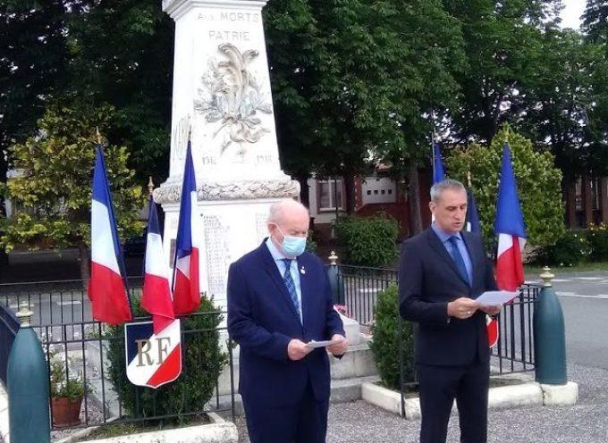 Bérat commémore l'Appel du 18 juin du général de Gaulle
