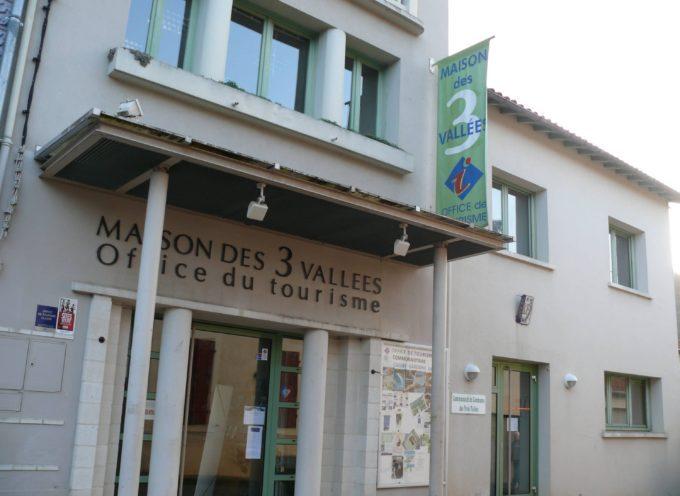 Les heures d'ouverture des offices de tourisme en Cagire Garonne Salat