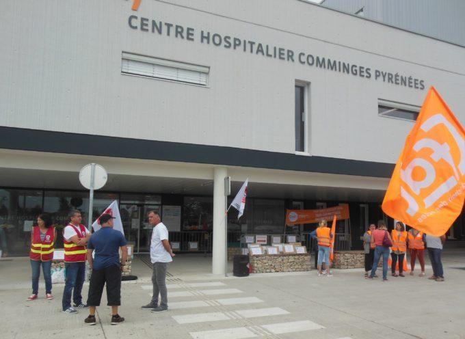 Saint-Gaudens : Une mobilisation en baisse à l'hôpital