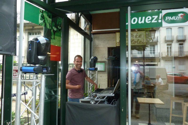 Samedi soir Philippe Condesse était à l'animation au METROPOLE !
