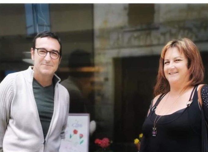 Céline Servat et Guillaume Coquery, deux commingeois dédicacent leur premier livre à Aspet