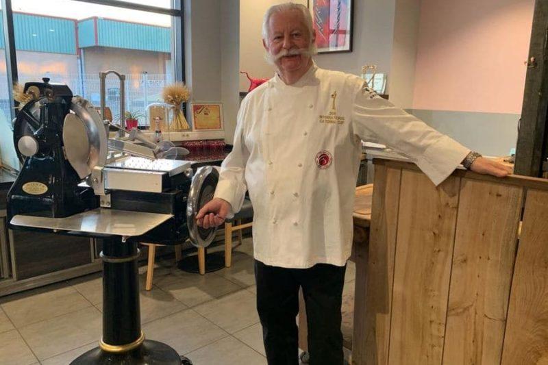 Le chef André Audouy dit Moustache