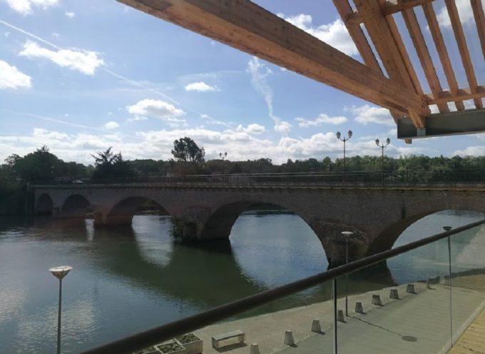 Fermeture du pont de Cazères