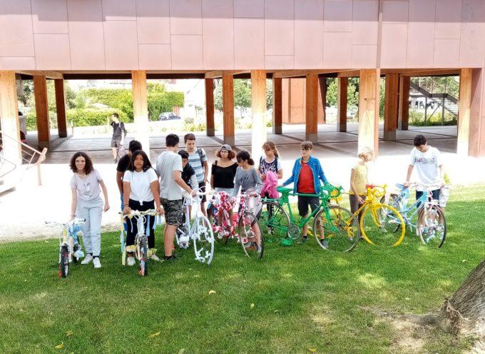 Cap Jeunes de Cazères : 2 chantiers participatifs et un séjour en vélo à Aurignac
