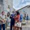 Georges Méric et Maryse Vezat en visite à Saint Bertrand de Comminges et à Valcabrère