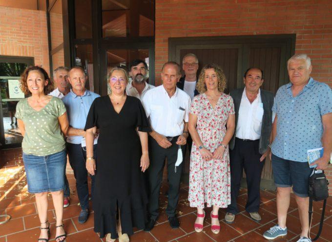 Les nouveaux visages des élus membres du bureau du Pays Sud Toulousain