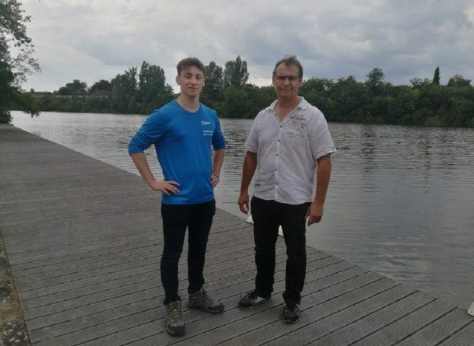 Rencontre avec Gaël, hydroguide sur les bords de Garonne