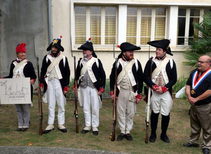 Montréjeau : La carte de la bataille de Montréjeau à la mairie