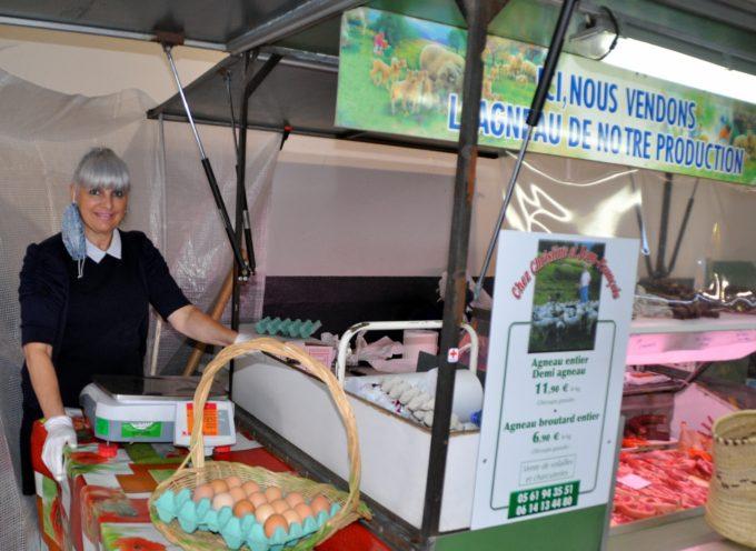 Montréjeau : Le clin d'œil du marché, l'agneau de chez Christine