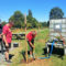 Jardinage au programme pour le chantier jeune à Soueich