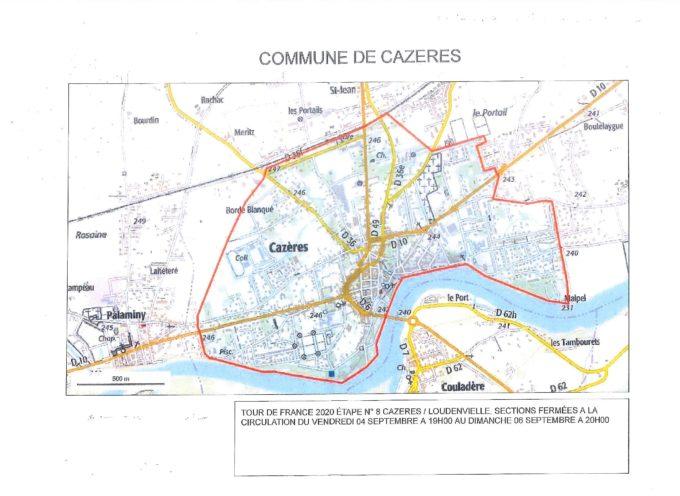 Tour de France – Les arrêtés de circulation sont disponibles