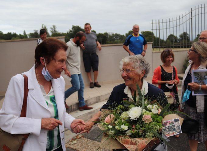 La municipalité de Landorthe a fêté sa centenaire Simone Danis