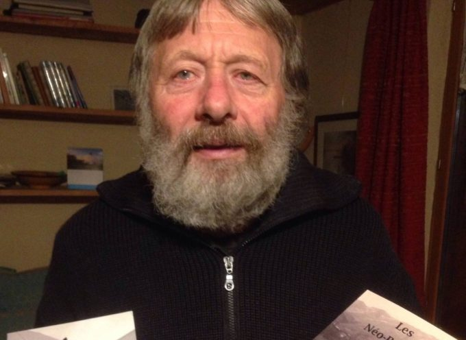 Wolfgang Bendick en dédicace à Sainte-Croix-Volvestre