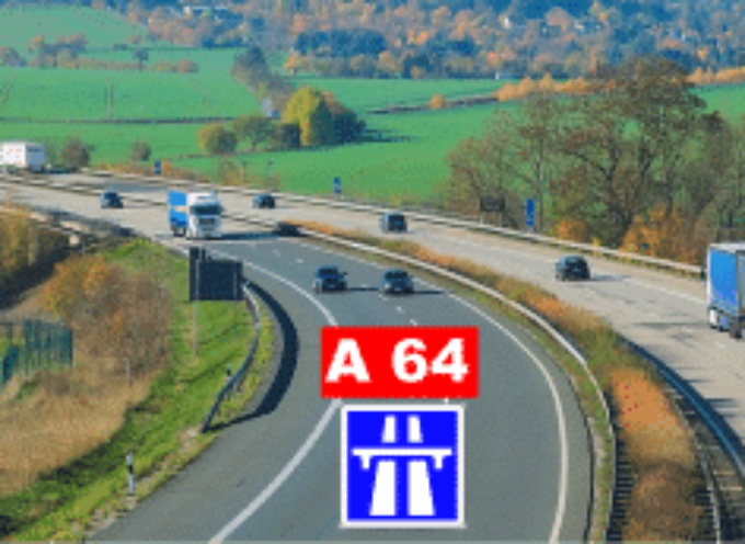 Travaux A64 : Planning des fermetures des échangeurs en septembre
