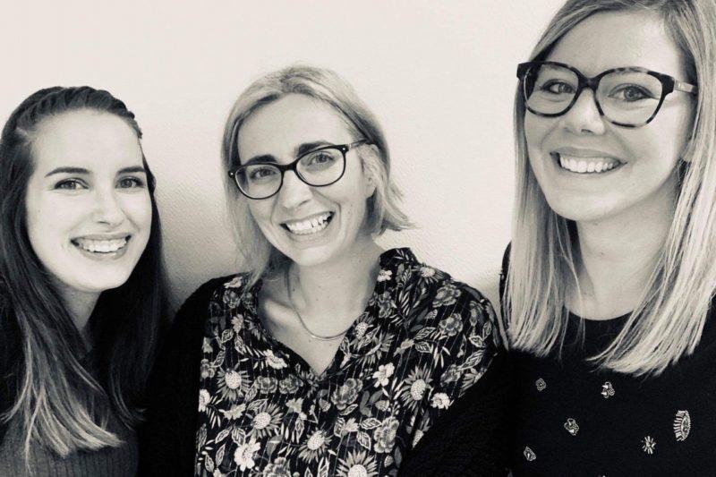 Les trois drôles de dames  De gauche à droite ! Jessica isabelle margaux !