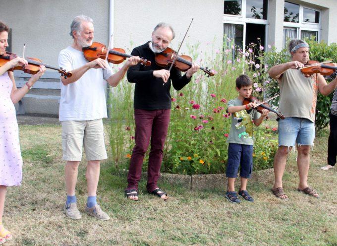 Clarac  : Stage de violon bucolique
