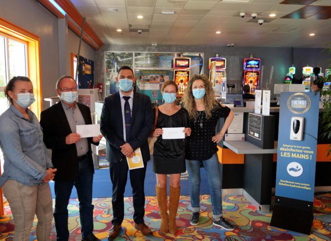 Barbazan : Le casino aide l'économie sociale et solidaire
