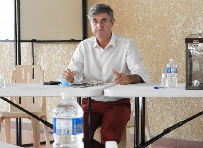 Landorthe: Daniel GRYCZA (Communauté de Communes du Volvestre) président du Systom