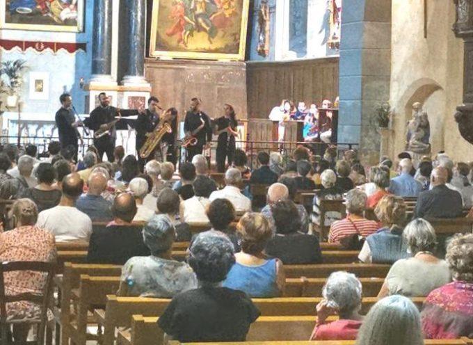 Le groupe SaxBack illumine la cathédrale de Rieux Volvestre