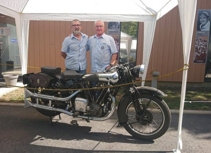 Expo au musée du circuit du Comminges, il en est passé des motos