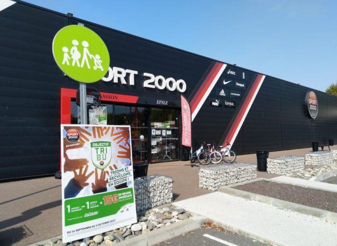 Sport 2000, opération : « Objectif Tri Bu »