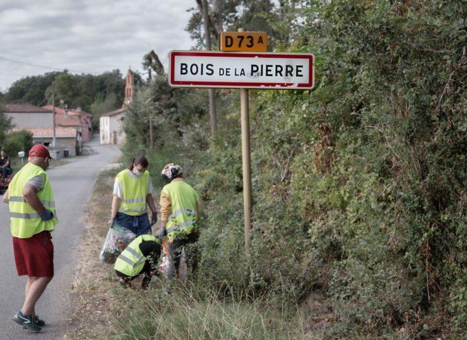 World Clean Up Day 2020: Bois de la Pierre ramasse 85kg de déchets