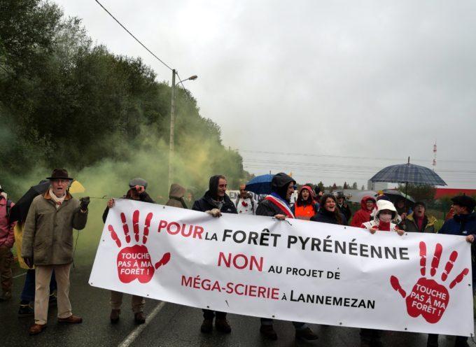 Lannemezan / Comminges « Touche pas à ma forêt » : Forte mobilisation contre le projet Florian