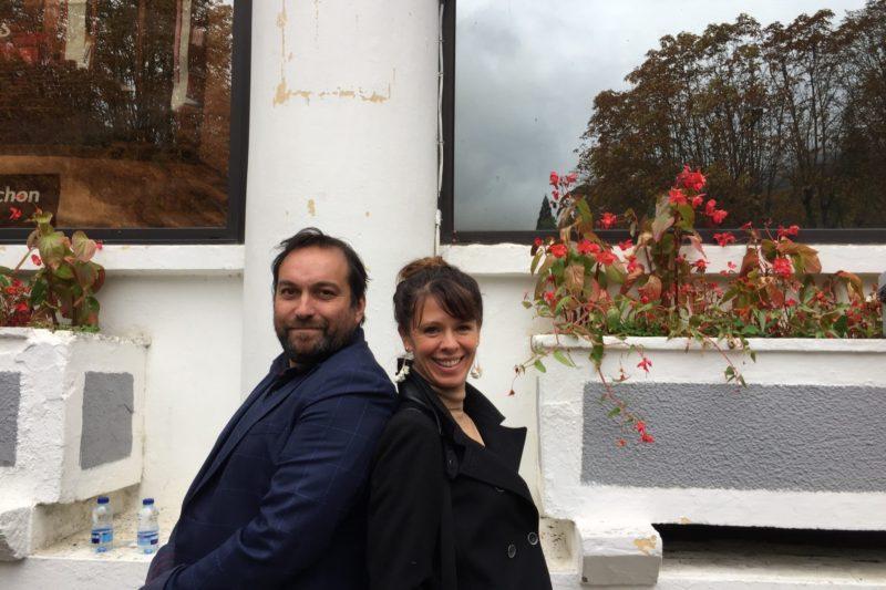 Un duo de têtes au Festival TV de Luchon Emmanuelle Eymard et Stéphane Caput !