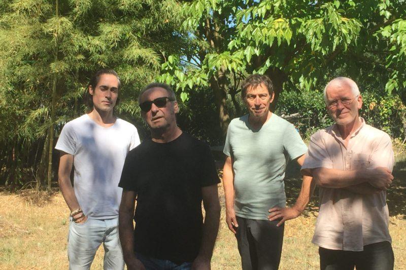 Éric Fraj et Pere Figueres ccompagnés par les excellents guitaristes Morgan Astruc et Gérard Méloux