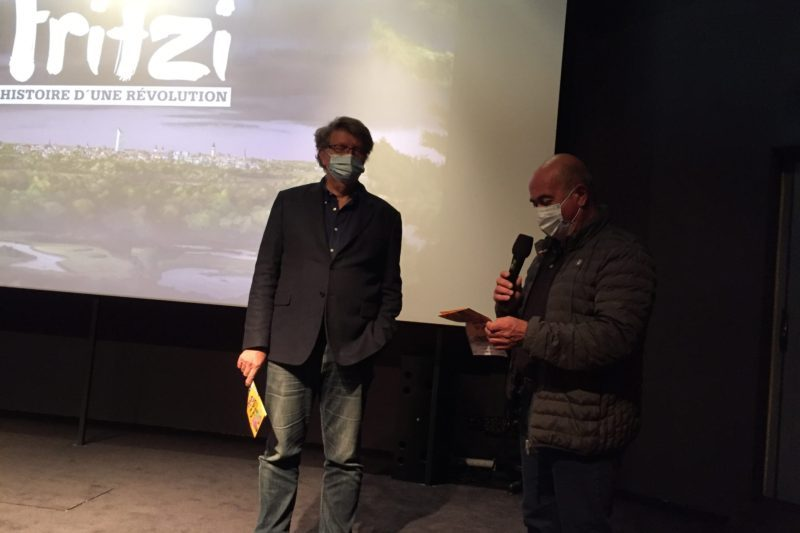 Christian Cappe et Noël Lacaze Maire de Loudenvielle