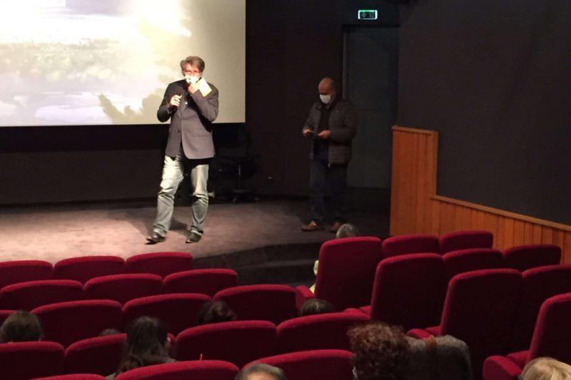 Christian Cappe présente le film et le programme du Festival