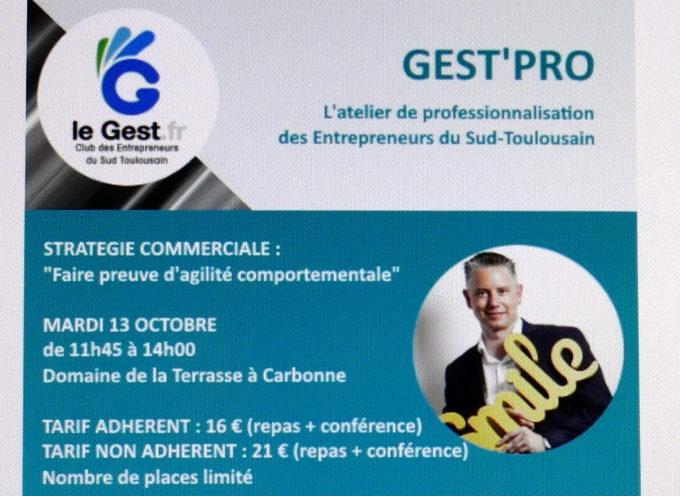Gest'Pro : Un atelier de professionnalisation pour les Entrepreneurs du Sud-Toulousain