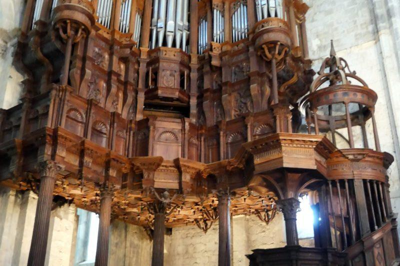 Concert d'orgue à St Bertrand