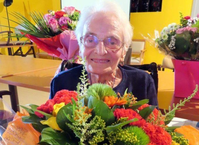 EHPAD Jallier, Clémence à 100 ans