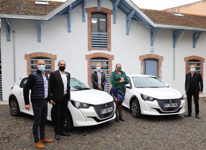 La Communauté de Communes Cœur et Côteaux Comminges s'est dotée de deux voitures électriques