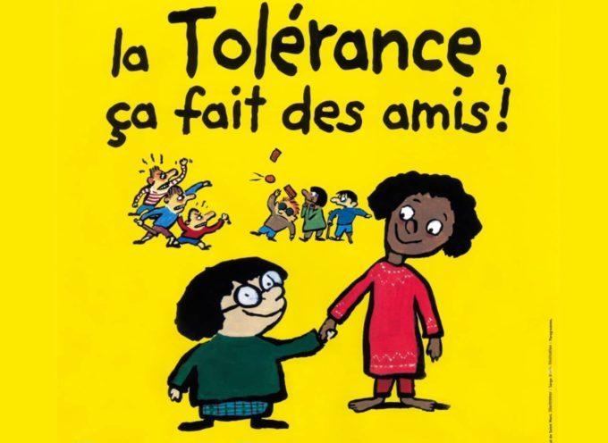 Lundi 16 novembre : journée Internationale de la tolérance