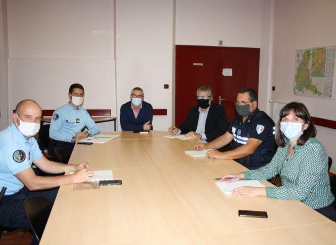 Carbonne : Gendarmerie Nationale et la Police Municipale en étroite collaboration.