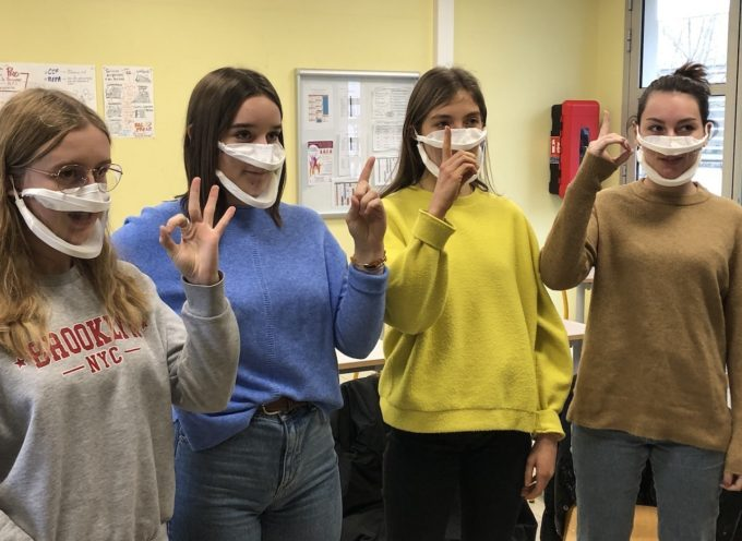 Saint-Gaudens : Des masques inclusifs au lycée agricole