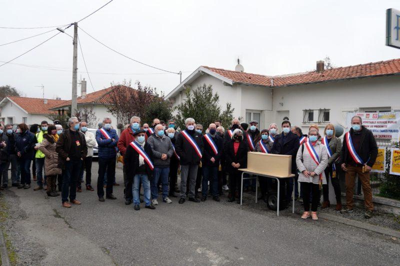 Les élus Neste-Barouuse unis dans un même combat.