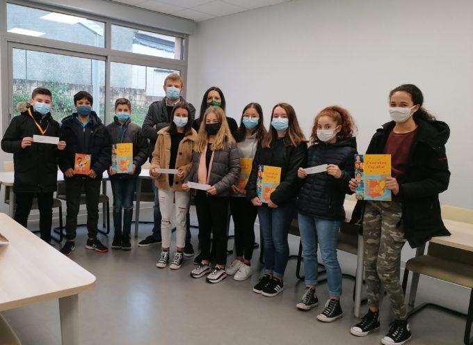 Des élèves masqués mais la tête plein de projets au collège Stella Blandy de Montesquieu