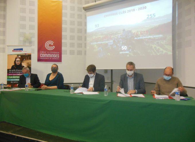 Renouvellement de partenariat entre Initiatives Comminges et Communautés de Communes