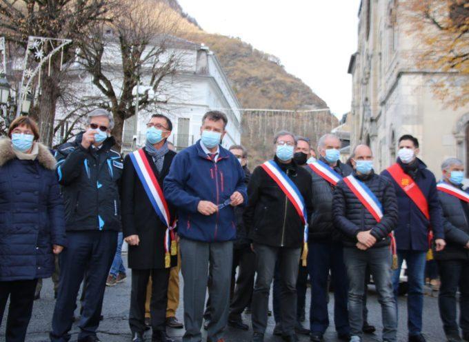 LUCHON : plus de 1000 manifestants sur les Allées d'Etigny !