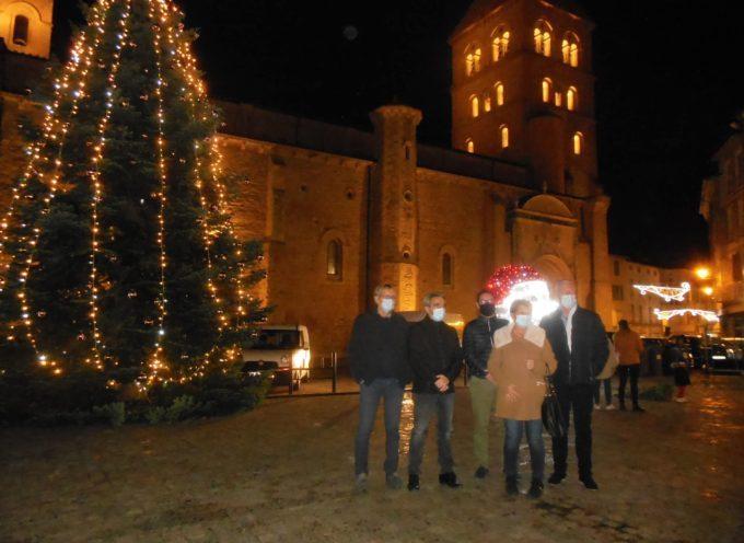 Saint-Gaudens se pare de lumières