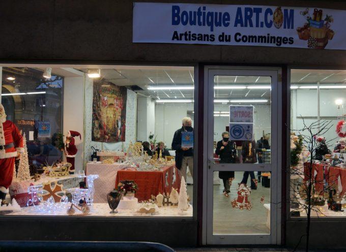 Saint Gaudens : Une boutique éphémère pour Noël