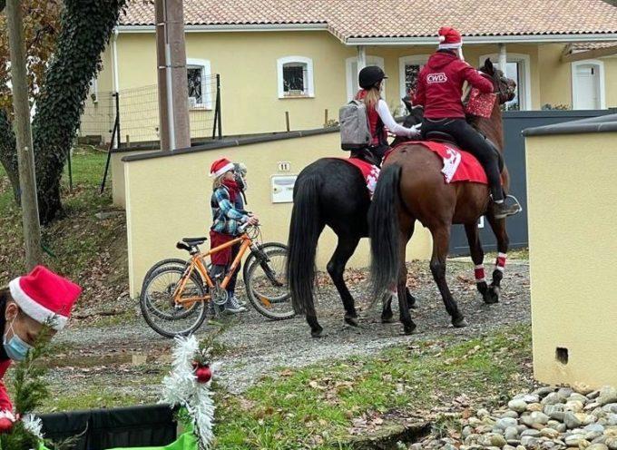 Au Bois de la Pierre, le Père Noël est déjà passé !