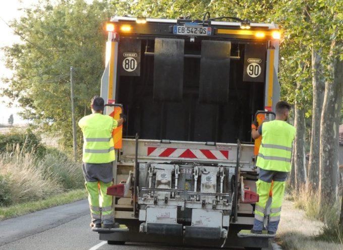 Cœur de Garonne : rattrapages des collectes des jours fériés