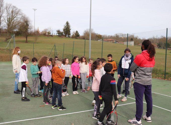 Landorthe : Le tennis à… l'école!