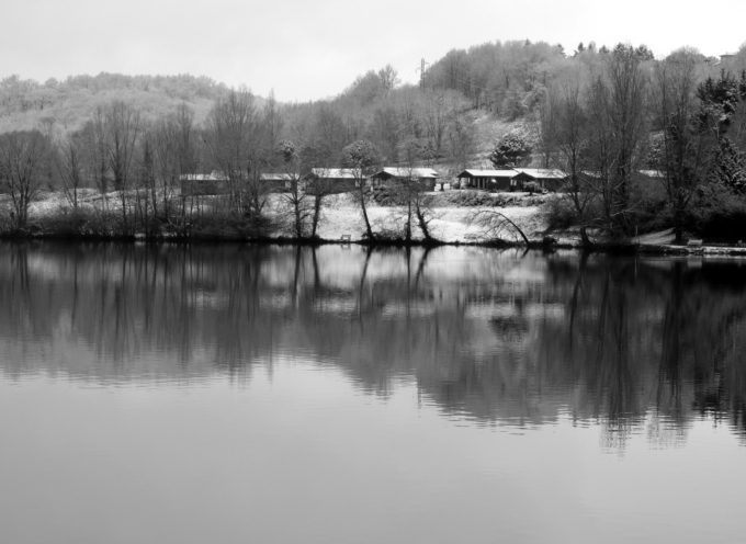 Montréjeau : Balade en noir et blanc