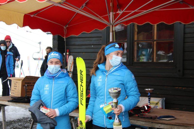 Nos championnes locales Alizée Pautrel et Louise Rigaud
