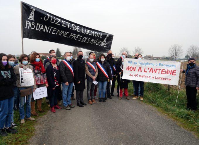 Ardiège : Forte mobilisation contre l'implantation de l'antenne 5G au lieudit Maillo